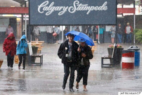 Alberta Experiences Wettest July Weather In 89
