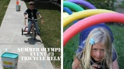 How To Turn Your Backyard Into The Summer Olympics For