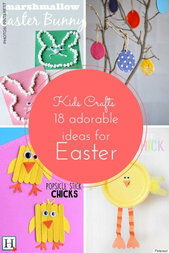 Easter Crafts For Kids: 18 Cute Ideas To Celebrate The