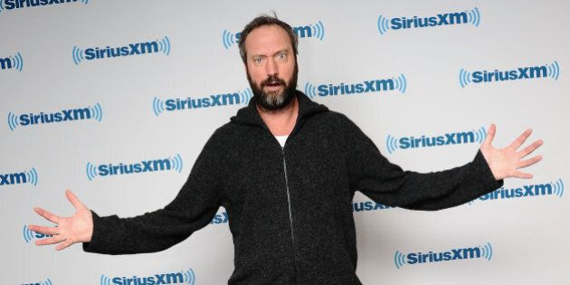 NEW YORK, NY - FEBRUARY 12: Comedian Tom Green visits SiriusXM Studios on February 12, 2015 in New York...