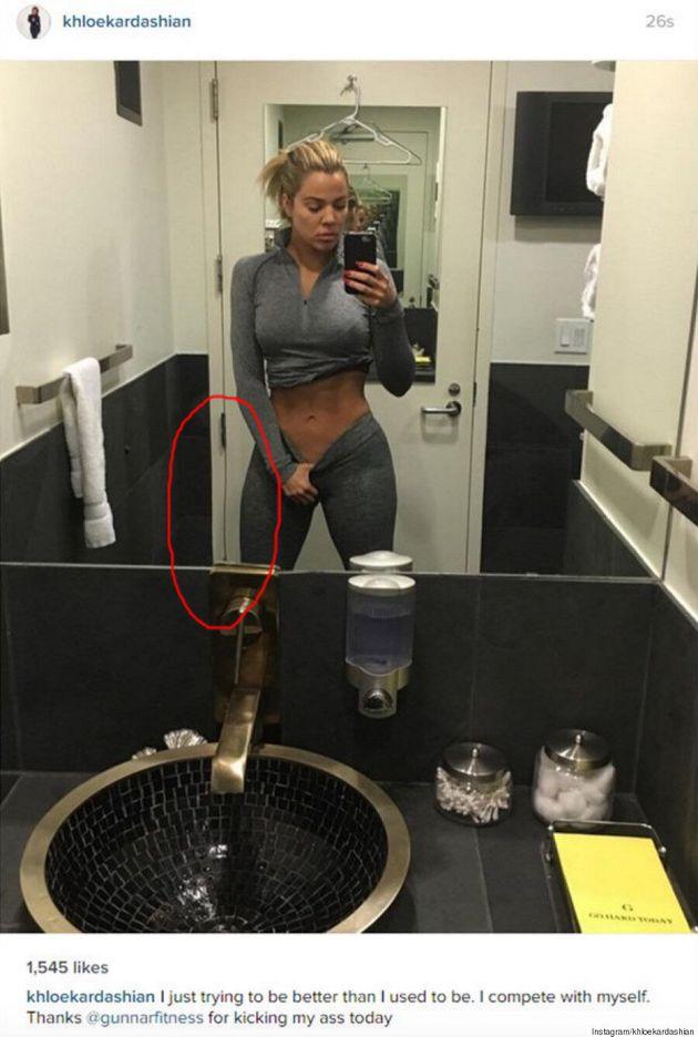 Khloe Kardashian Bites Back At Fans Who Call Out Photoshopped