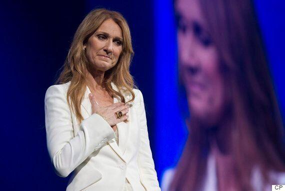 Celine Dion Makes Emotional Return To Quebec After Husband's