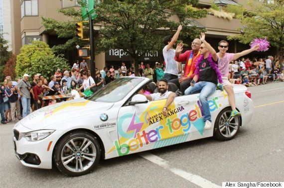 Alex Sangha Made History As Vancouver Pride Parade's First Sikh Grand