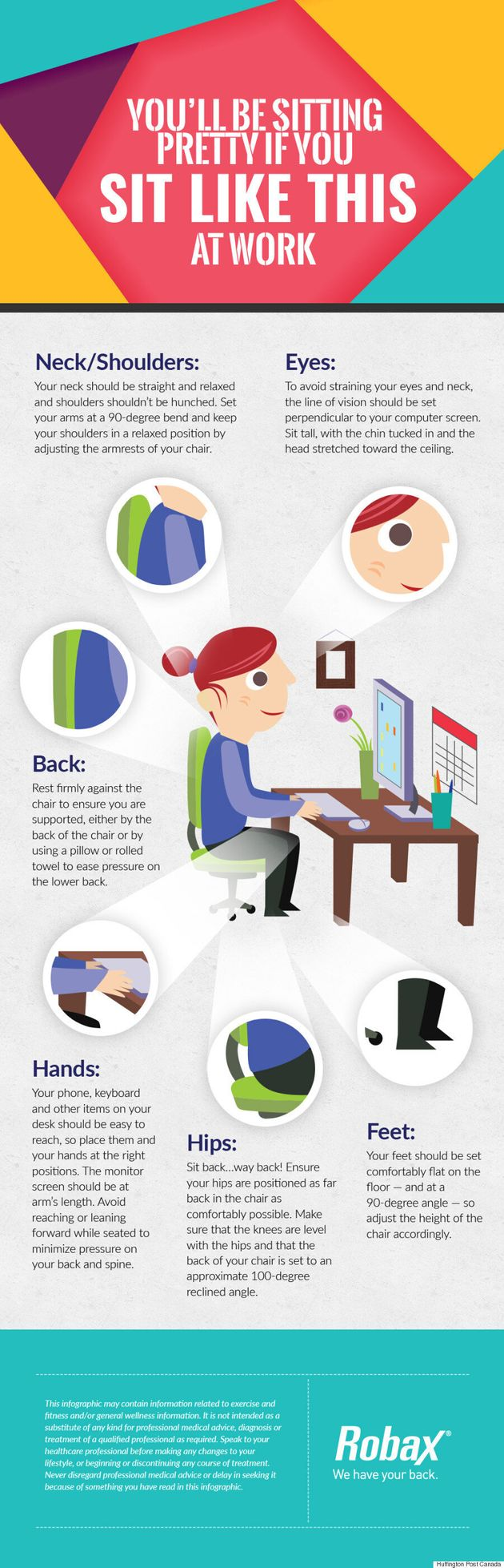 You'll Be Sitting Pretty If You Sit Like This At Work
