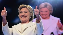 Clinton Casts Herself As A Unifier As She Accepts