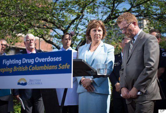 B.C. Premier Christy Clark Calls For Federal Help As Fentanyl Deaths