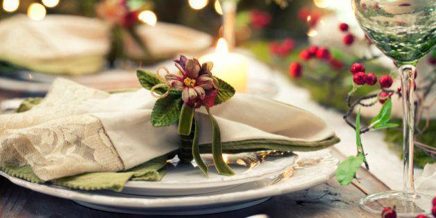 Elegant Christmas Dining