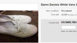 'Damn Daniel's' White Vans Are Selling For $400K On