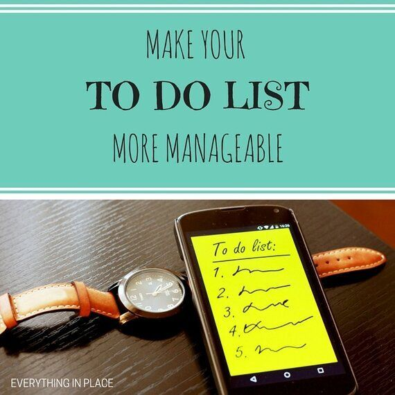 5 Easy Ways To Manage Your To-Do