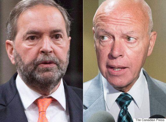 Sen. Jean-Guy Dagenais Demands Mulcair Apologize For NDP