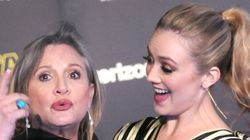 Carrie Fisher And Daughter Are The Cutest Red Carpet