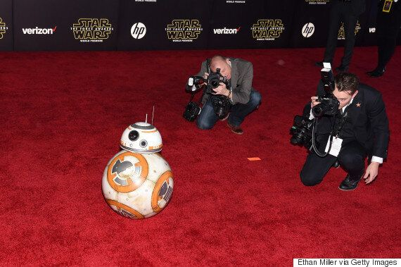 'Star Wars' Red Carpet Saw BB-8 Being A Total