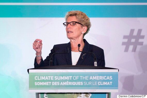 Kathleen Wynne: Ontario's Cap-And-Trade Plan Will Add 4.3 Cents Per Litre To Gas