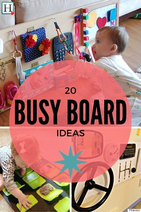 Busy Board: DIY Ideas To Keep Your Busy Toddler...