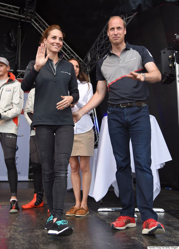 Kate Middleton Goes Sporty Chic For America's Cup World