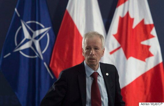 Stephane Dion Holds First Meeting With Russian Counterpart In