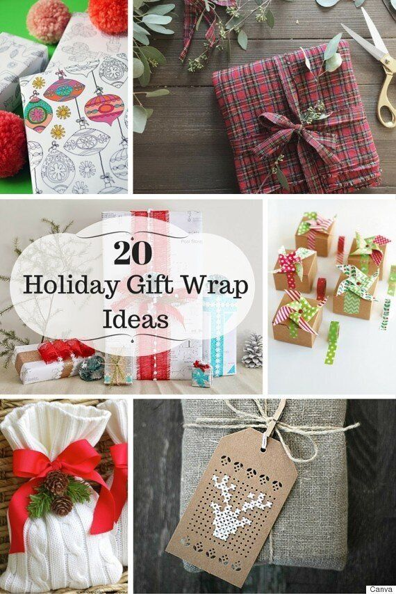 20 Holiday Gift Wrapping Ideas For All Shapes And