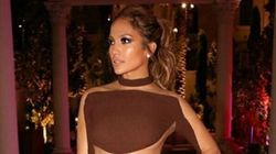 Jennifer Lopez Breaks Out The Naked Jumpsuit For Her Birthday