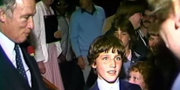 Justin Trudeau's Love Of 'Star Wars' Started A Long Time