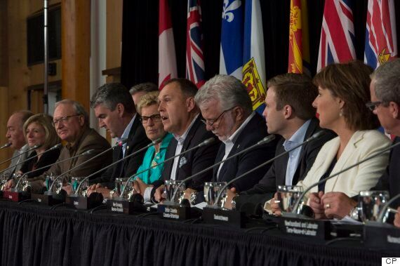 Premiers Meeting Ends With Internal Trade Deal In Principle But Few