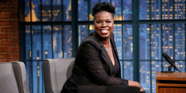 LATE NIGHT WITH SETH MEYERS -- Episode 397 -- Pictured: Actress Leslie Jones on July 21, 2016 -- (Photo...