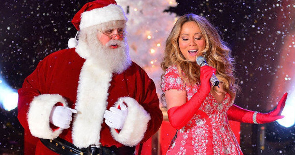Mariah Carey Christmas Song.Mariah Carey S All I Want For Christmas Is You Knocked Out