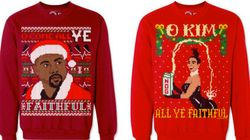 Behold The Kimye Christmas Sweaters You Never Knew You
