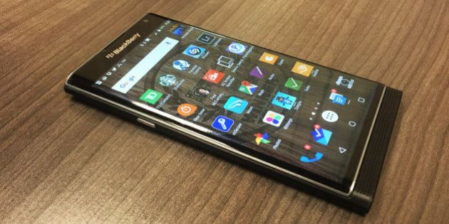 Blackberry Mounts A Comeback With The Android-Based