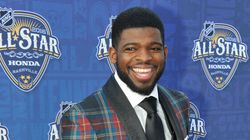 Habs Defenceman P.K. Subban Suits Up For New Fashion