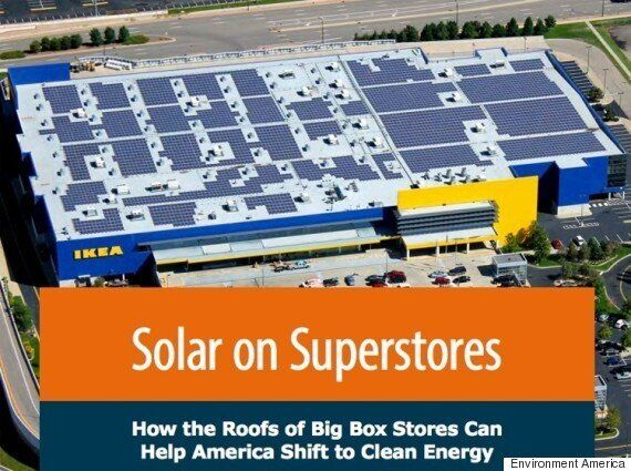 Rooftop Solar On Big Box Stores Could Power Millions Of Homes: