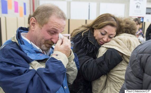 Second Planeload Of Syrian Refugees Arrives In