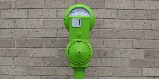 Fredericton Is Using Old Parking Meters To Collect Change For The