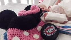 One-Month-Old Baby Hit By Puck At Montreal Canadiens