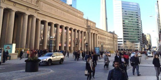 Union Station's 'Pedestrian Friendly' Street Is Anything
