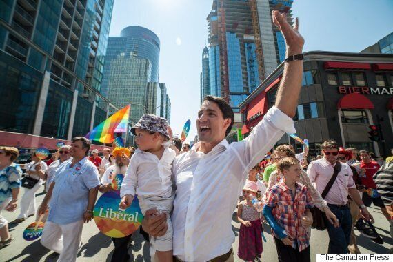Trudeau To March In Toronto's Pride Parade This Summer: