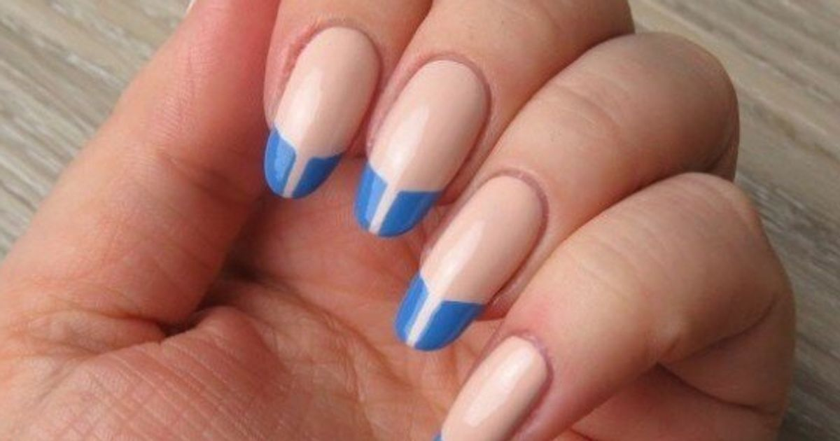 Nail Art: Negative Space French Manicures | HuffPost Canada