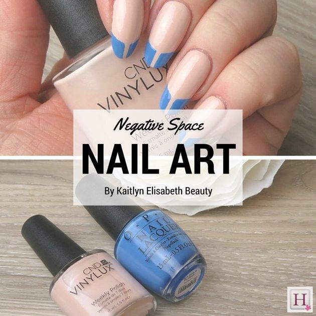 Nail Art: Negative Space French