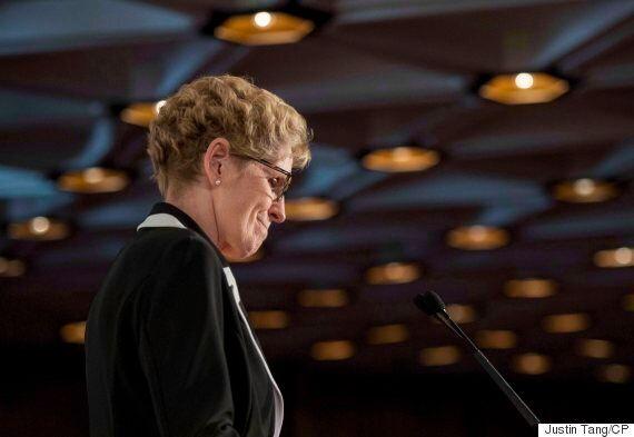 Kathleen Wynne Apologizes For 1912 Ban On French In Ontario