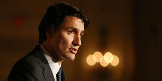 TORONTO, ON- NOVEMBER 27 - Liberal Party of Canada Leader Justin Trudeau spoke on the accomplishments...