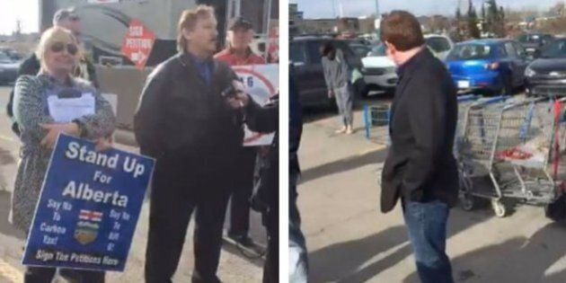 George Clark, Leader Of Albertans First Movement, Hosts 'Kudatah' In Walmart Parking