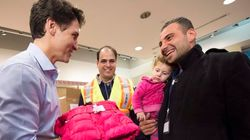 Trudeau's Greeting Of Refugees Makes International