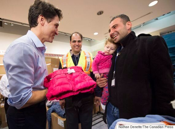 Trudeau's Greeting Of Syrian Refugees Makes International