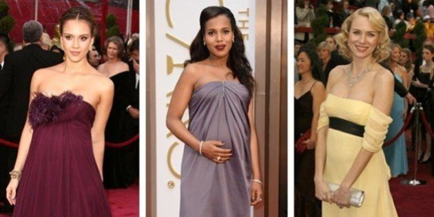 Best Oscar Dresses: These Celebs Took Maternity Style To Epic