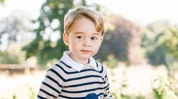 Adorable Photos Mark Prince George's Third