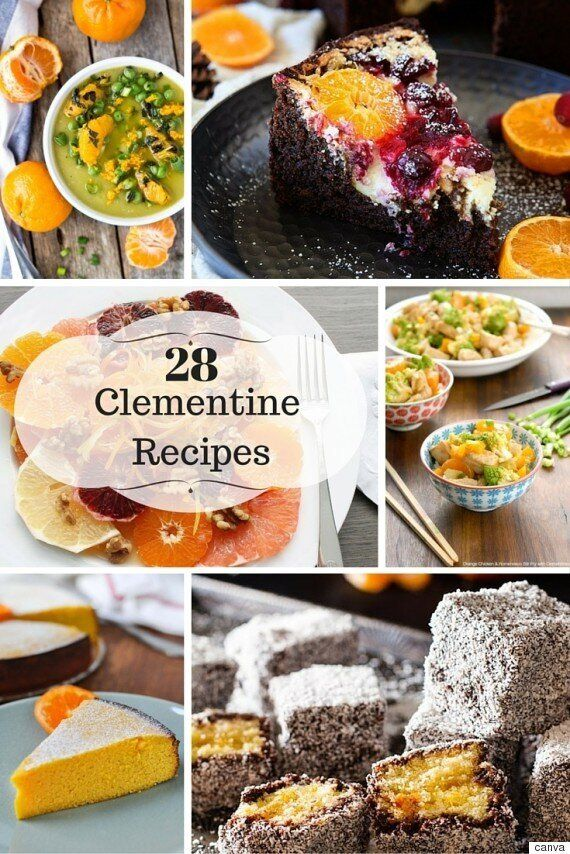 28 Sweet And Savoury Clementine
