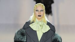 Lady Gaga Walks Marc Jacobs Runway Alongside Kendall