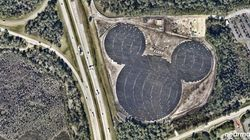 Disney's New Solar Farm Is The Best Hidden Mickey
