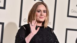 Adele Pops In To Vancouver's Catfe To Cuddle Up With Furry