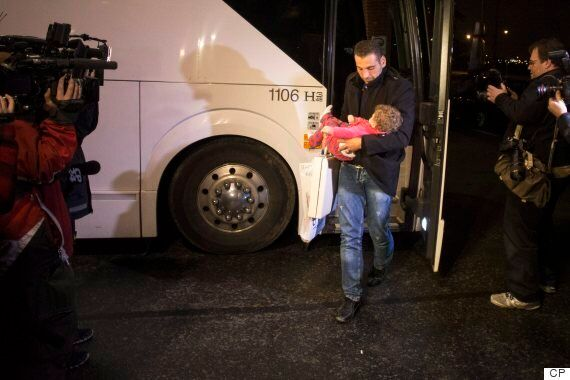 Syrian Refugees Canada: One Family On First Flight To Arrive Calls Country