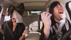 Sia Slays At Carpool Karaoke With James